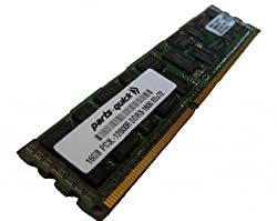 16GB DDR3 Memory Upgrade for Lenovo ThinkServer TD340 Server PC3L-12800 1600MHz ECC Registered Low Voltage DIMM (PARTS-QUICK BRAND)