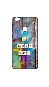 I Love You Colorful Designer Mobile Case/Cover For Letv Le 1s