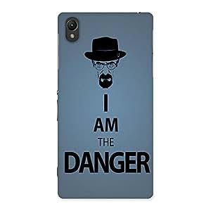 Ajay Enterprises I M Denger Back Case Cover for Sony Xperia Z2