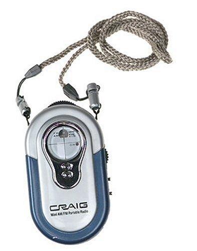 Mini Am/Fm Portable Radio With Neck Strap