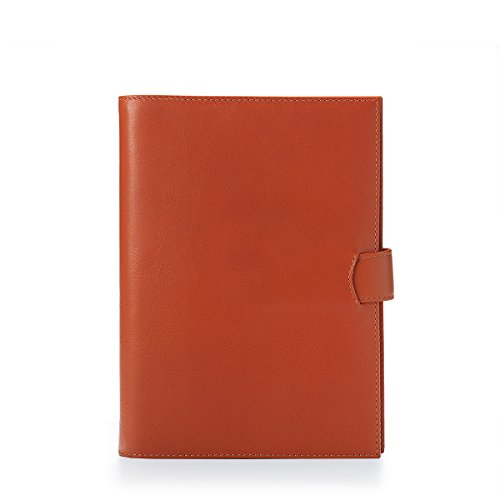 housse-amovible-a5-journal-en-cuir-lisse-mandarine
