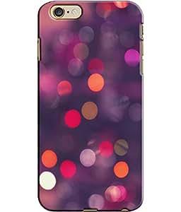 EU4IA Multicolor Bubbles Pattern MATTE FINISH 3D Back Cover Case For iPhone 6s - D231