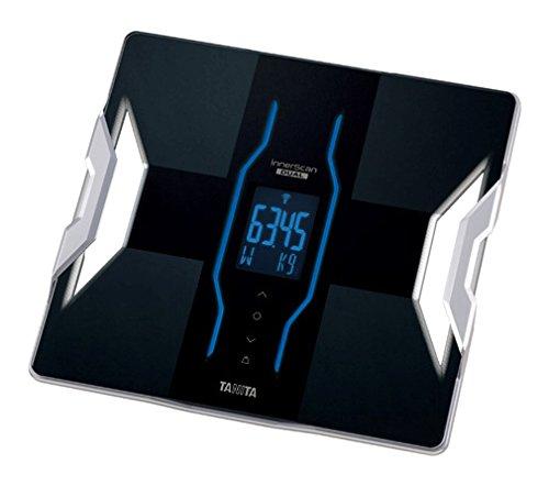 TANITA 【世界初! 筋質点数を表示】 & 【Bluetooth通信で測定データを送信】 & 【体重50g単位表示】 デュアルタイプ体組成計 インナースキャンデュアル ブラック RD-903-BK