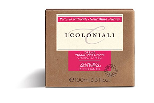 I Coloniali Crema Per Le Mani All'Olio Di Crusca Di Riso 100 ml NEW