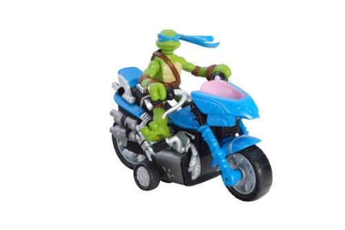 TMNT Mini Moto-Cycle Leonardo Figure (Ninja Turtle Barbie compare prices)