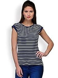 Purplicious Striped Knit top