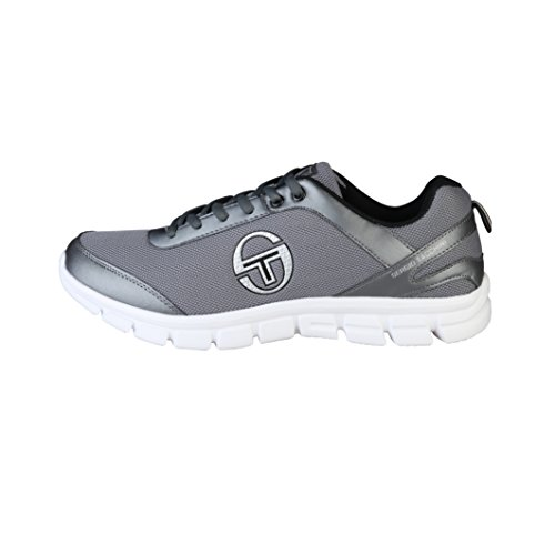 Sergio Tacchini Mens Bold Low Top Lace Up Lightweight Sneakers (10 US) (Dim Grey) (Sergio Tacchini Shoes compare prices)