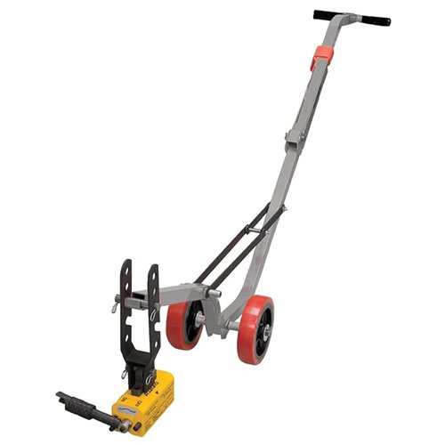 Allegro Industries 9401-26A Magnetic Lid Lifter, Aluminum Dolly, Heavy Duty Magnet Lift, Weight 900 lb Flat Items, 450 lb Round Items (Lids Magnets compare prices)