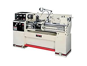 Jet 321840 GH-1440W-3 14-Inch Swing by 40-Inch between Centers 230/460-Volt 3 Phase Geared Head Engine Metalworking Lathe