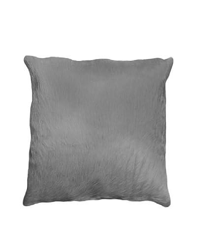 Natural Brand Torino Cowhide Pillow, Grey