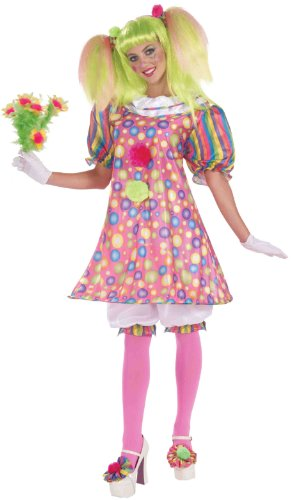 Forum Circus Sweeties Tickles The Clown Dress Costume