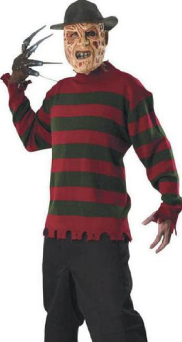 Freddy Sweater Xlg Adult Mens Costume