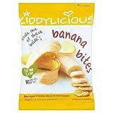 Kiddylicious Banana Bites 15G
