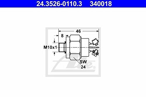 ATE 24352601103 interruptor de luz de freno