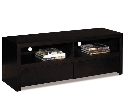 Cheap Multi-Media Console Table TV Stand in Espresso Finish (MST4060)