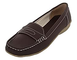 TORRINI Womens Brown Synthetic Loafers - 8 UK