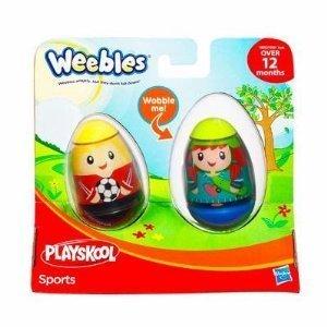 Imagen de Playskool Weebles 2-Pack - Deportes