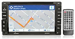 Lanzar SNV65I3D 6.5-Inch 2 x DIN In-Dash Touchscreen LCD Monitor with DVD/CD/MP3/MP4/SD/AM-FM/Bluetooth and GPS with USA/Canada/Mexico Maps (Discontinued by Manufacturer)