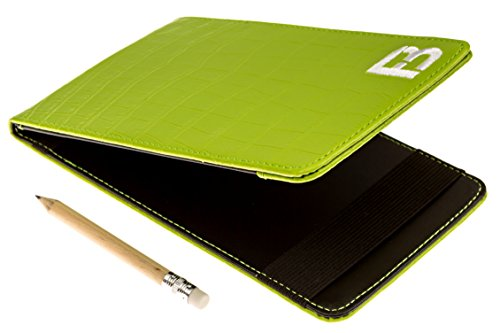 Fuzzy Bunkers Golf Scorecard Holder (Green) (Cook Golf compare prices)