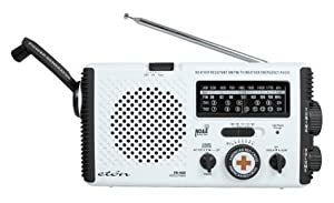 American Red Cross FR400 Emergency Radio, White (Discontinued by Manufacturer)