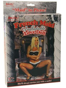Adam & Eve Carmen Luvana French Maid Inflatable Love Doll