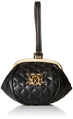 Love Moschino Pouf Evening Bag, Black, One Size