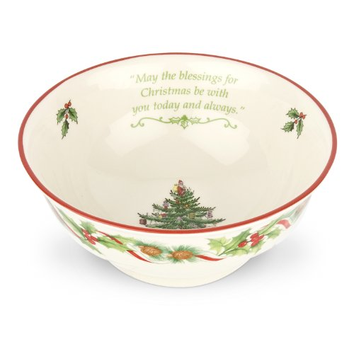Spode Christmas Tree 2010 Candy Revere Bowl, 6-Inch