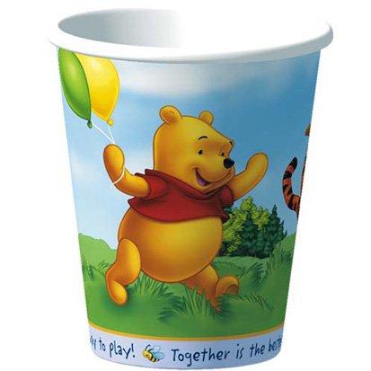 Pooh Fun Paper Cups 8ct - 1