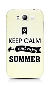 Amez Keey Calm and Enjoy Summer Back Cover For Samsung Galaxy Grand Neo