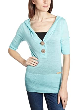 Emu Australia CATALINA HOODY Womens Jumper AQUA Small