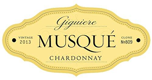 2013 Matchbook Musque Chardonnay 809, Dunnigan Hills, Estate Bottled