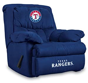 MLB Texas Rangers Home Team Microfiber Recliner by Imperial