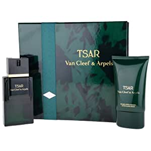 tsar by cleef and arpels eau de toilette spray 100ml aftershave balm 100ml co uk
