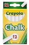 Crayola Chalk, White, 12 chalk