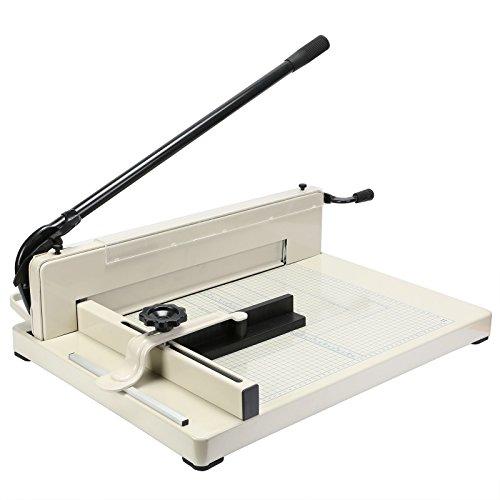 BestEquip Paper Cutter 17 Inch A3 Guillotine Paper Cutter Heavy Duty Steel Guillotine Cutter 400 Sheet Capacity (17 Heavy Duty Paper Cutter compare prices)