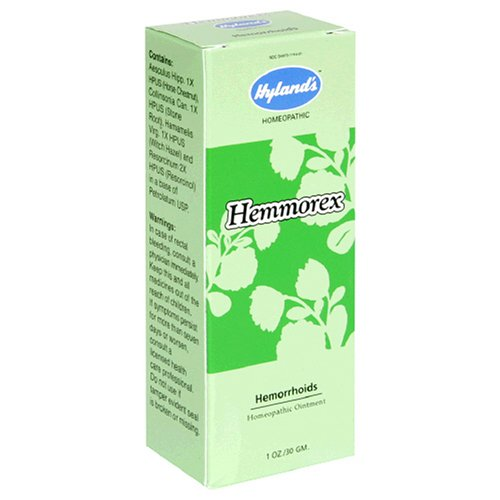 Buy Hyland's  Hemmorex, Hemorrhoids Ointment, 1-Ounce (30 g) (Pack of 3) (Hyland's Homeopathic, Health & Personal Care, Products, Health Care, Pain Relievers, Hemorrhoid Care)