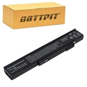 Battpit Recambio de Bateria para Ordenador Portátil Gateway W340UI (4800 mah)