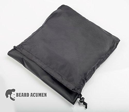 beard acumen beard bib hair catcher cape for shaving. Black Bedroom Furniture Sets. Home Design Ideas