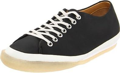Clarks Women's Othello Babe Fashion Sneaker,Black Leather,9 M US