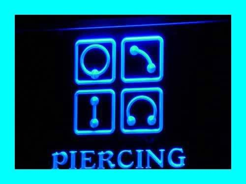 Adv Pro I325-B Piercing Body Ear Tattoo Shop Nr Neon Light Sign