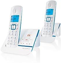 Comprar Alcatel Versatis F230 Voice Duo - 2 teléfonos fijos digitales inalámbricos, color azul [Importado de Francia]