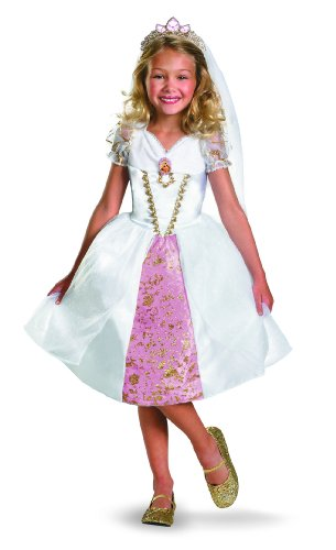 Disney Tangled Rapunzel Wedding Gown Costume