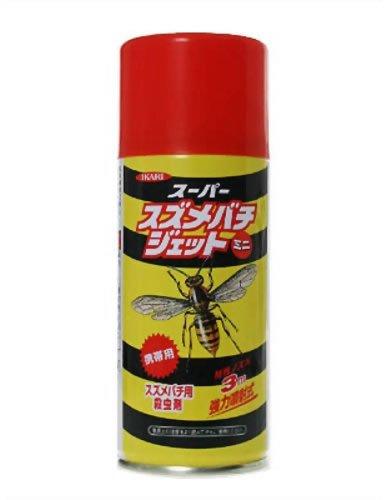 イカリ消毒 スーパースズメバチジェットミニ 180ml