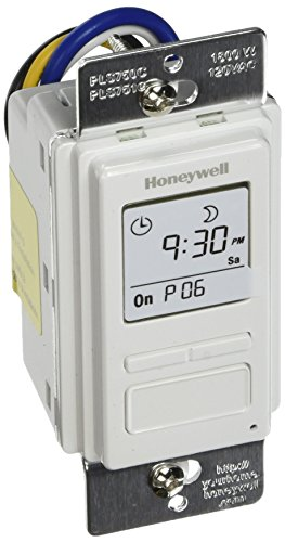 Honeywell PLS750C1000 Timer Switch with Sunrise Sunset Single or 3 Way (Honeywell Timer Switch 3 Way compare prices)
