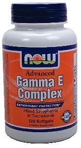NOW Foods, ADVANCED GAMMA E 120 SGELS ( Multi-Pack)