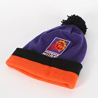 Mitchell and Ness - Phoenix Suns Cuffed Beanie in Main Team Color by Mitchell & Ness