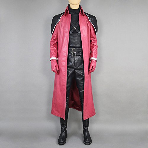 Cosplaygalaxy Final Fantasy VII Genesis Rhapsodos Red Cosplay Costume