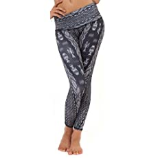 Teeki - Designer Activewear - Diamond Tribe (Grey) Hot Pant - Small