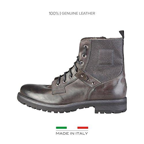 Made in ItaliaShoes - Stivaletti Uomo , marrone (marrone), 43
