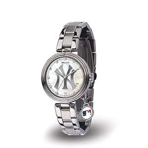 Sparo RI-WTCHA4701 New York Yankees Charm Ladies Watch by Sparo